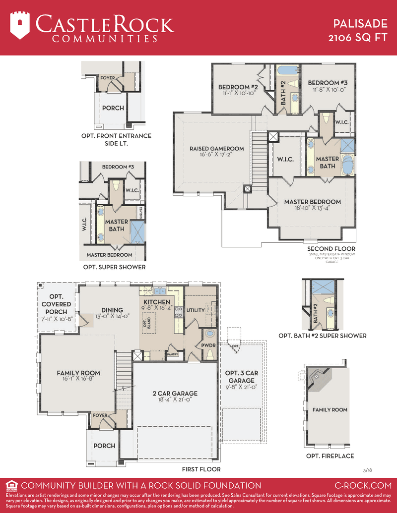 Palisade Floor Plan
