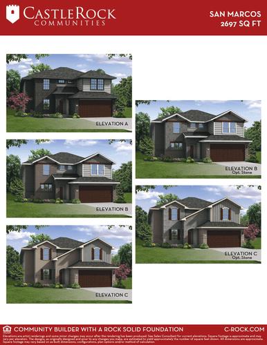 San Marcos Elevation Options