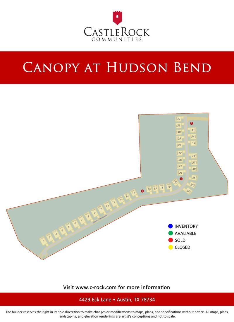 Canopy Lot Map