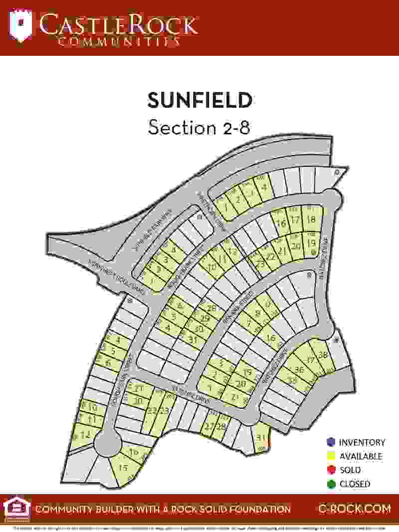 Sunfield Section 2-8