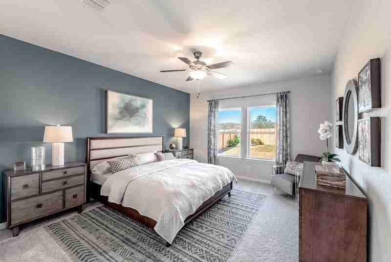 Hunter's Ranch Master Bedroom