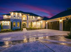 Pebble Beach-Mercury Luxury Home - Build on Your Lot: Houston, Texas - CastleRock Communities