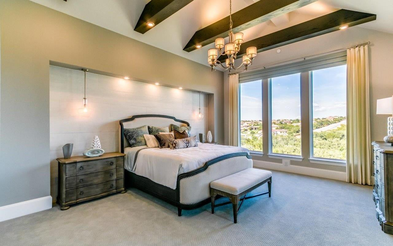 Bedroom featured in the Pebble Beach-Mercury Luxury Home By CastleRock Communities in Austin, TX