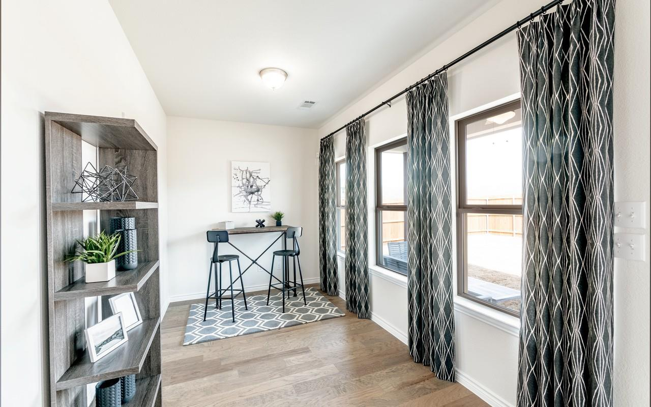 Living Area featured in the Sabine By CastleRock Communities in Houston, TX