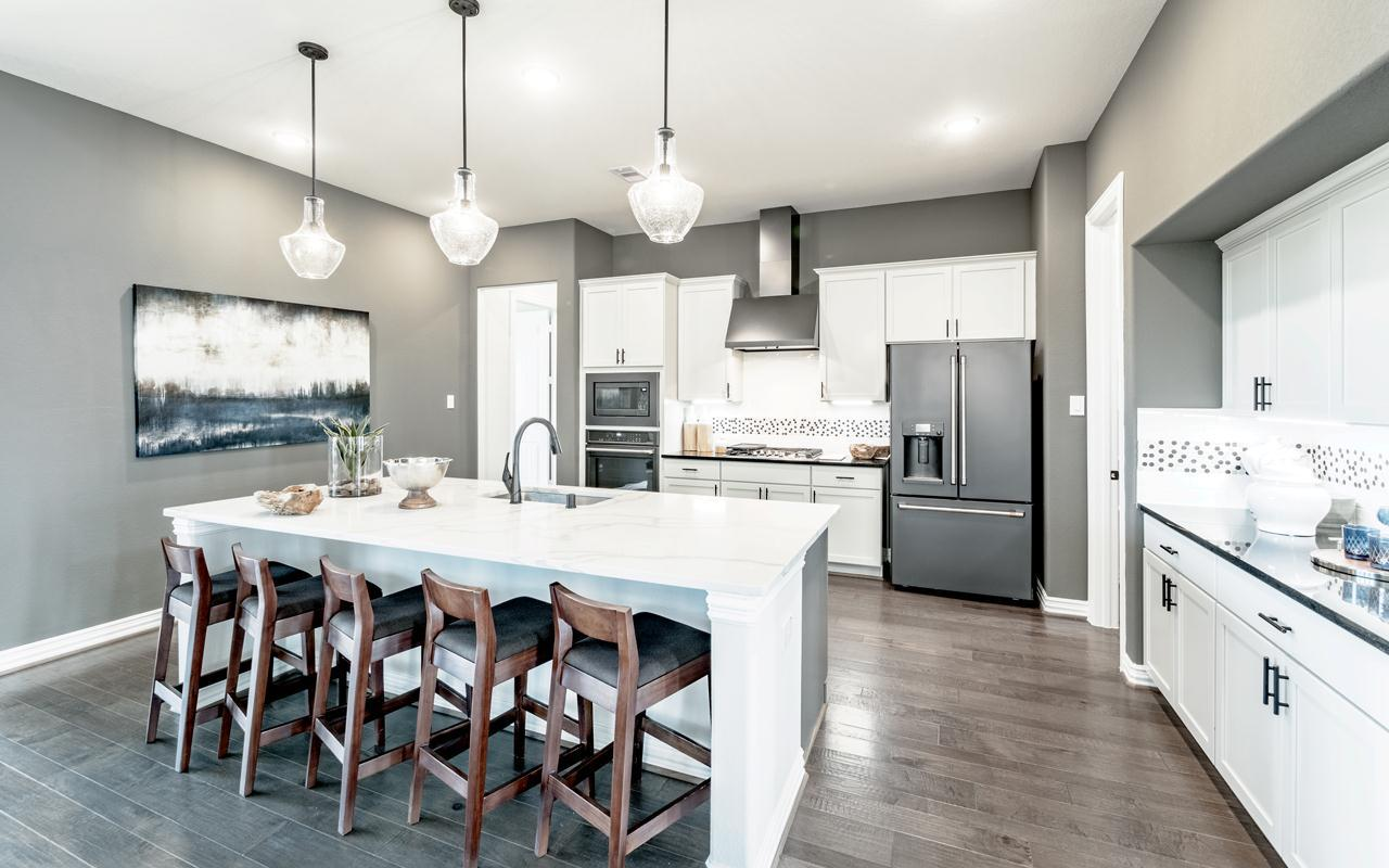 Kitchen featured in the Frisco-Gold By CastleRock Communities in Dallas, TX