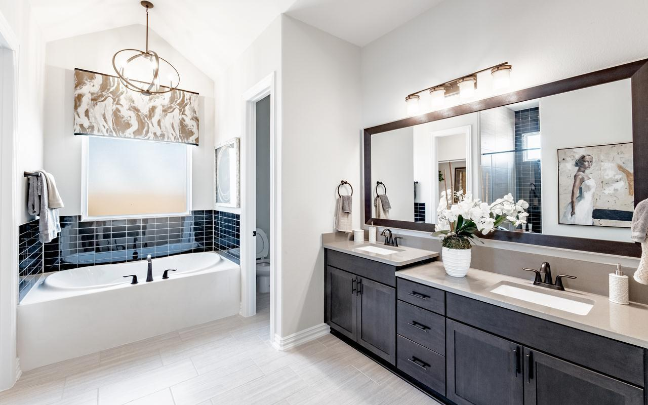 Bathroom featured in the Frisco-Gold By CastleRock Communities in Dallas, TX