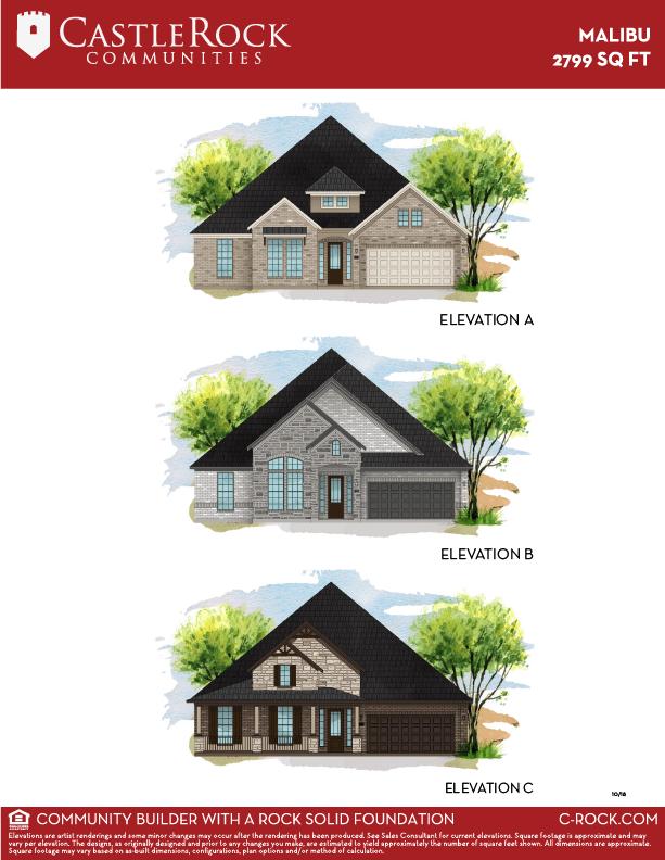 Malibu Elevation Options