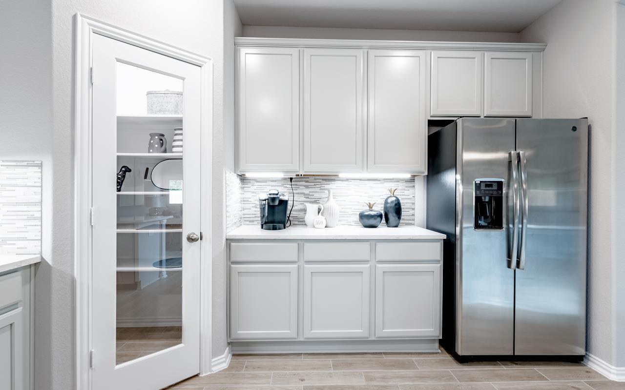Kitchen featured in the Glenwood-Silver By CastleRock Communities in Austin, TX