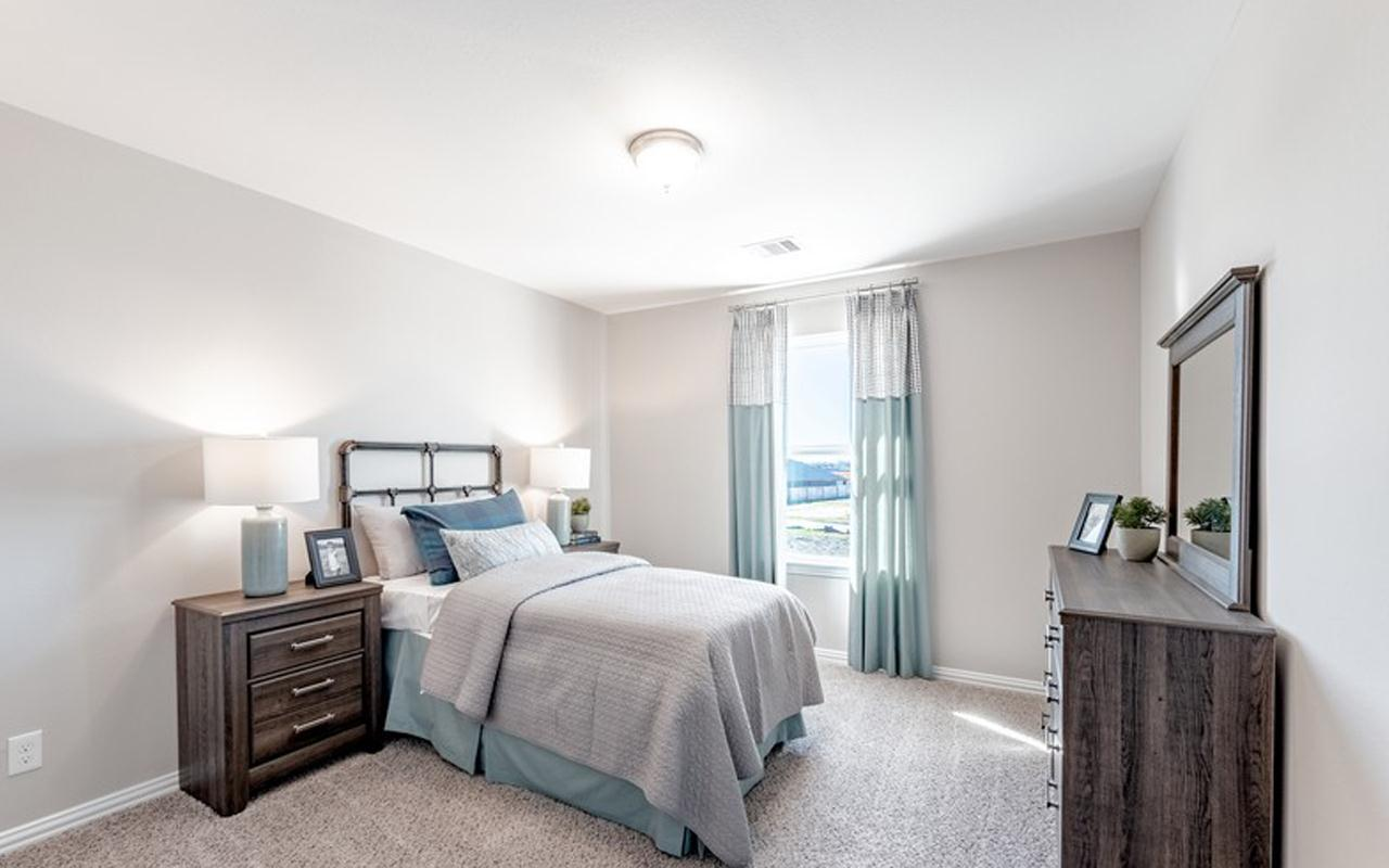 Bedroom featured in the San Marcos-Silver By CastleRock Communities in Austin, TX