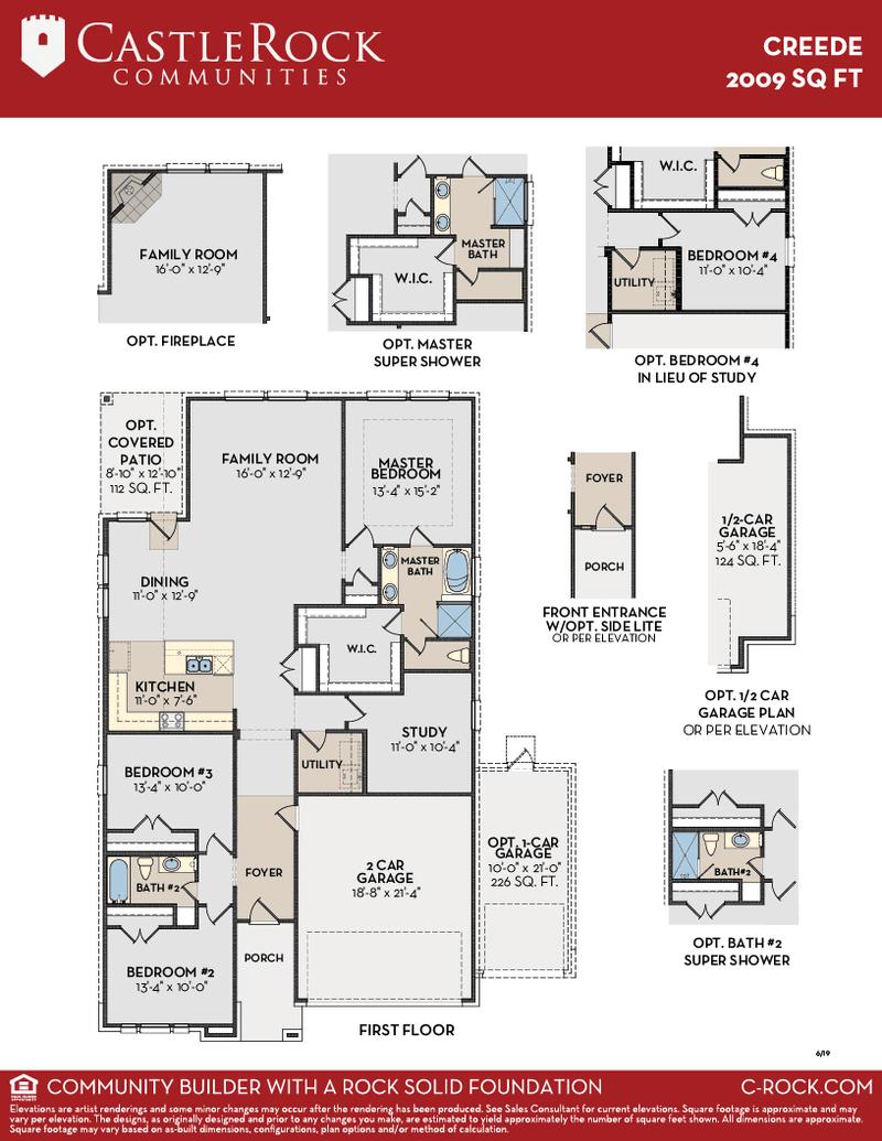 Creede Floor Plan