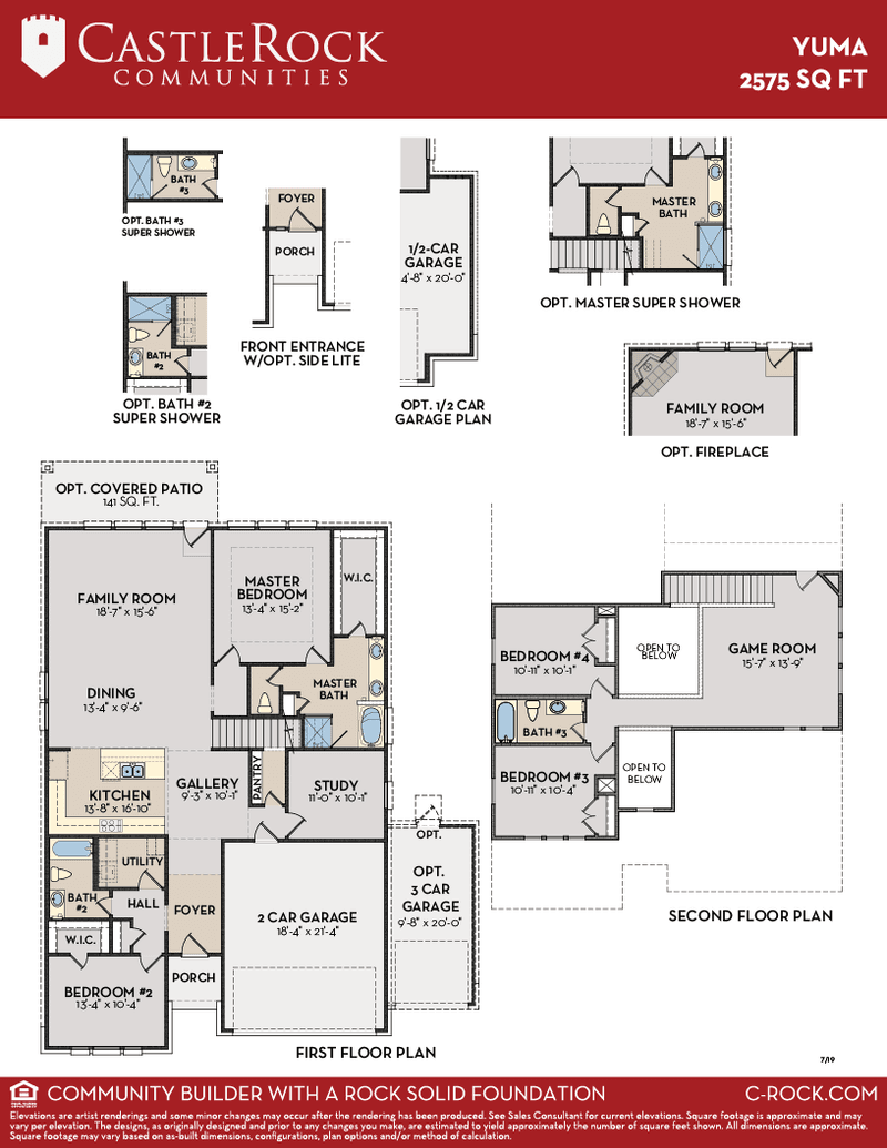 Yuma Floor Plan