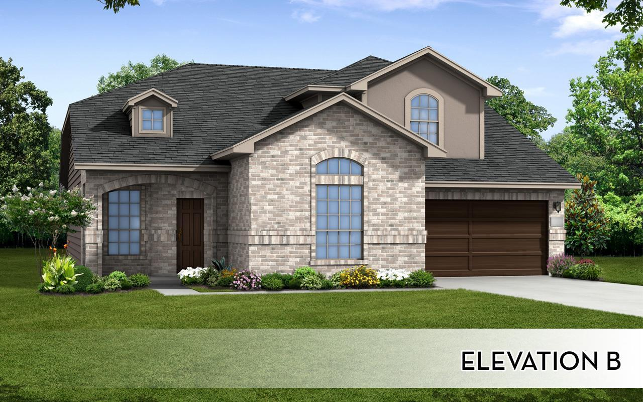 Exterior featured in the Fitzgerald-Silver By CastleRock Communities in Houston, TX
