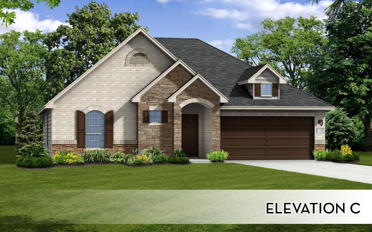 Exterior featured in the Hemingway-Silver By CastleRock Communities in Houston, TX