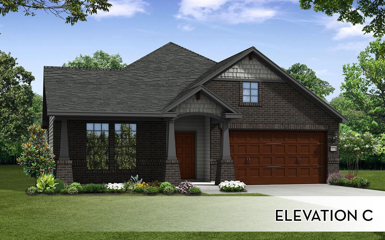 Exterior featured in the Glenwood-Silver By CastleRock Communities in Brazoria, TX