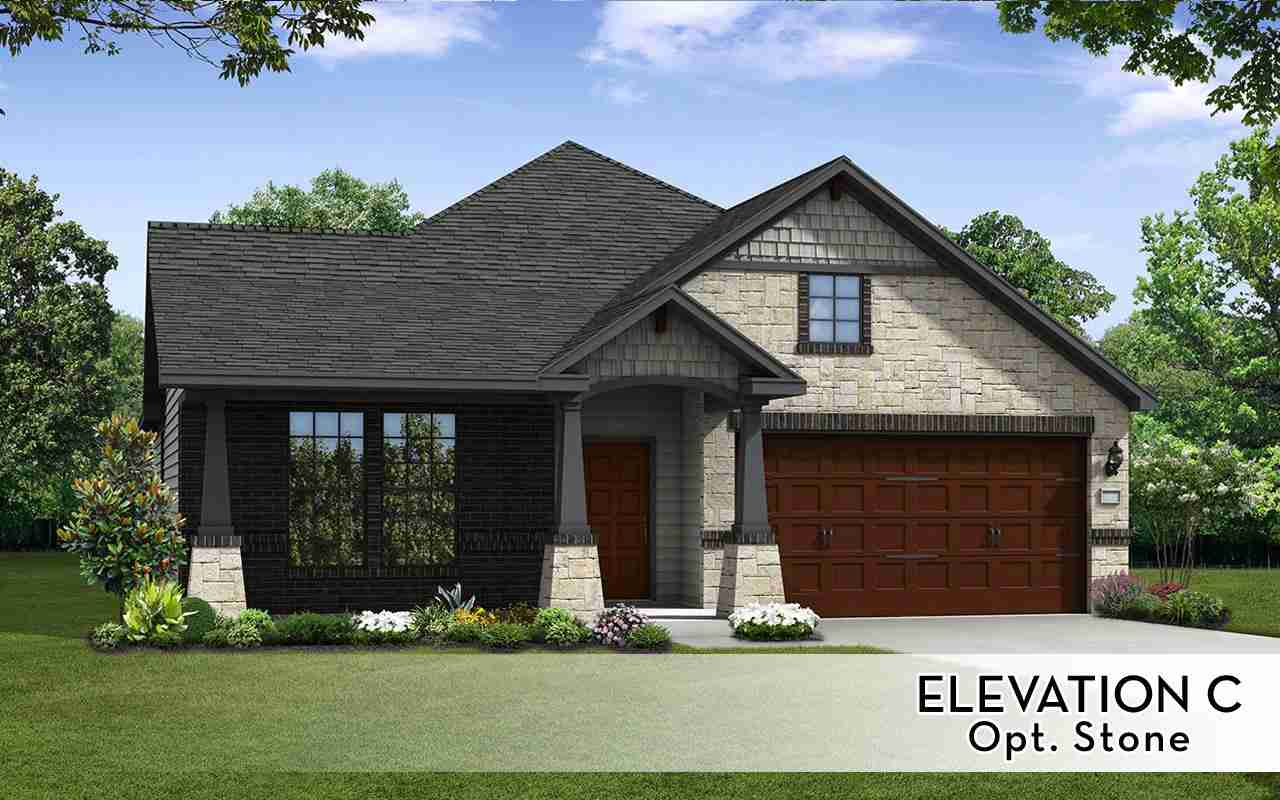 Glenwood - Elevation C opt Stone