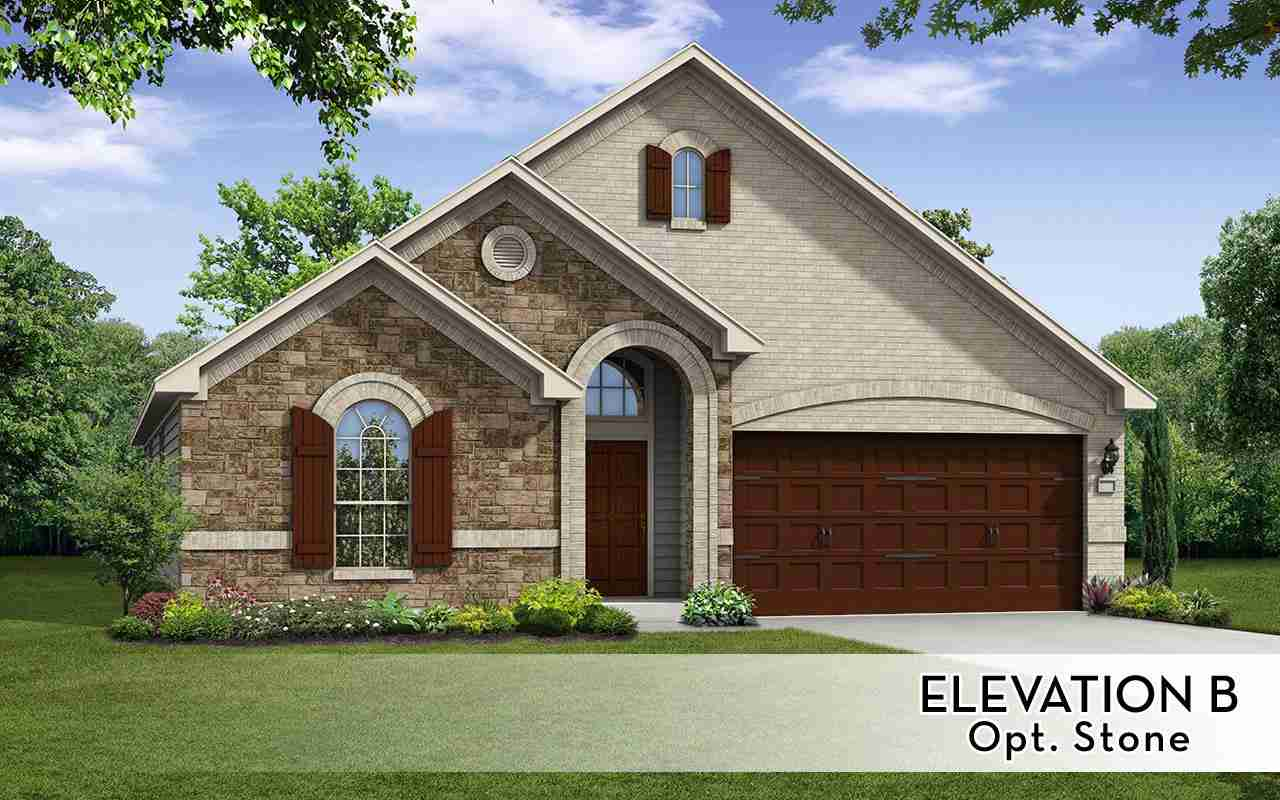 Glenwood - Elevation B opt Stone