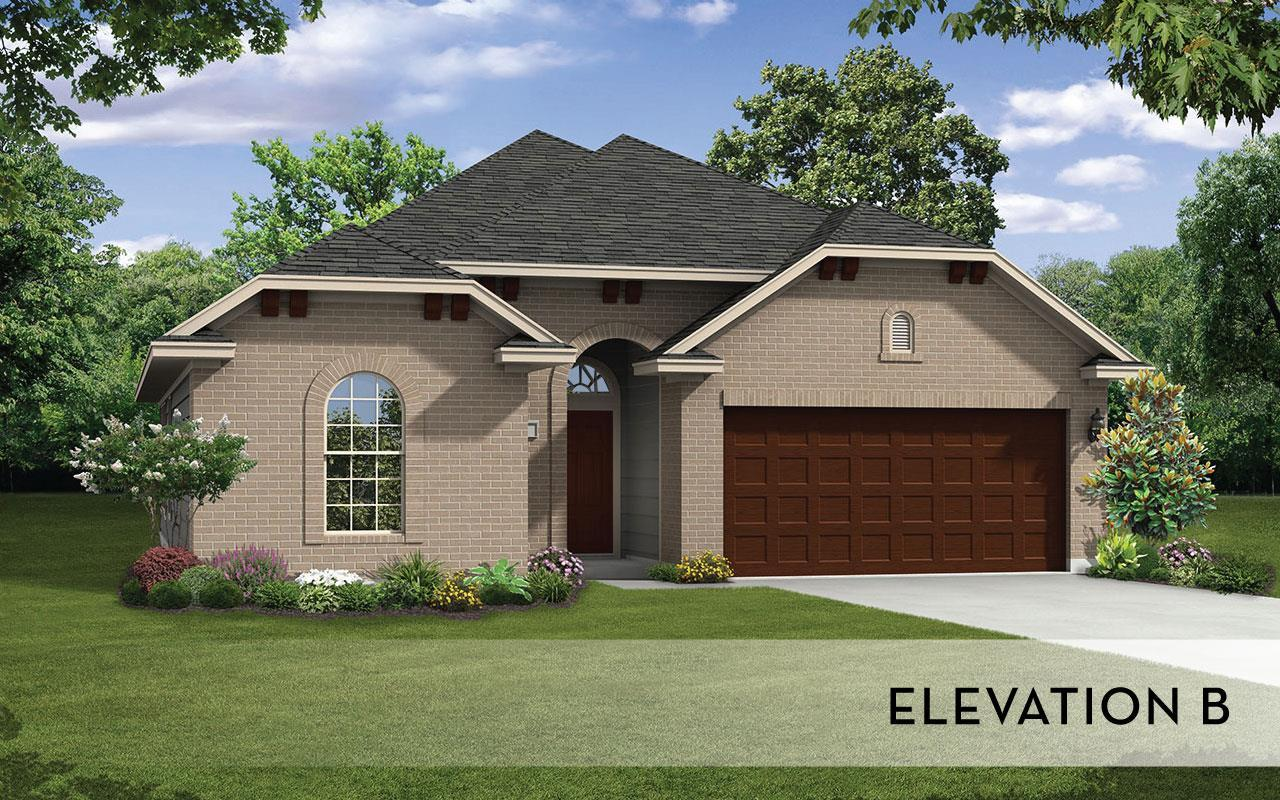 Exterior featured in the Greeley-Silver By CastleRock Communities in Brazoria, TX