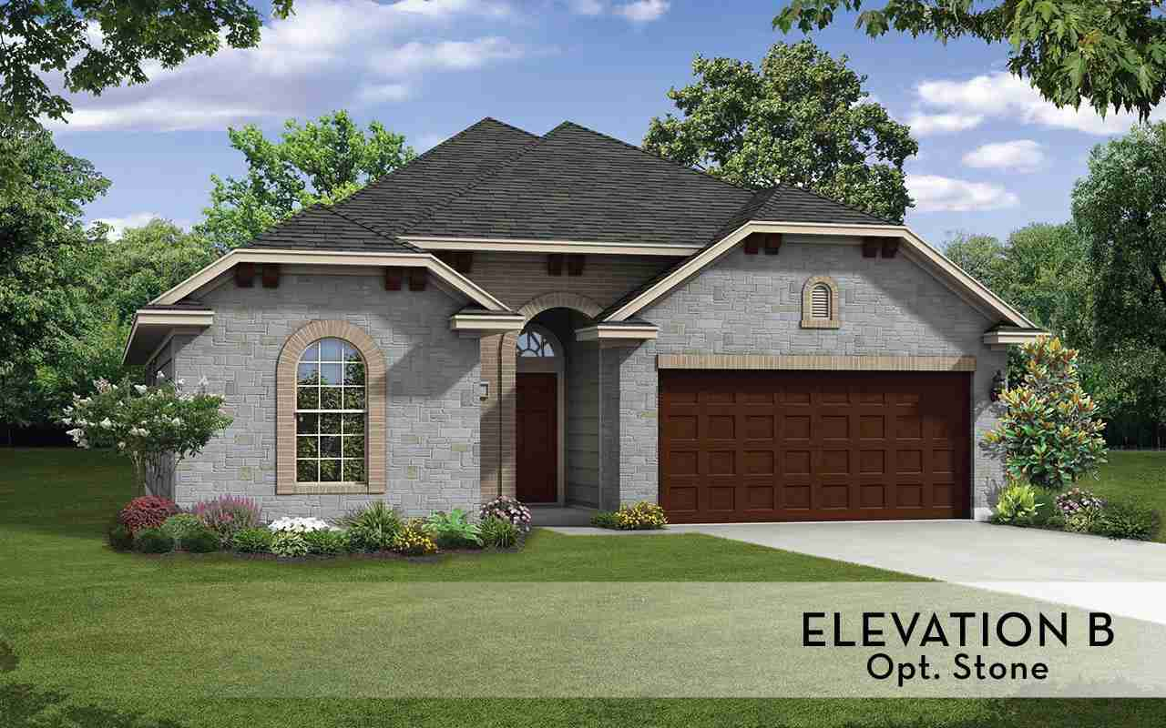 Greeley Elevation B opt Stone