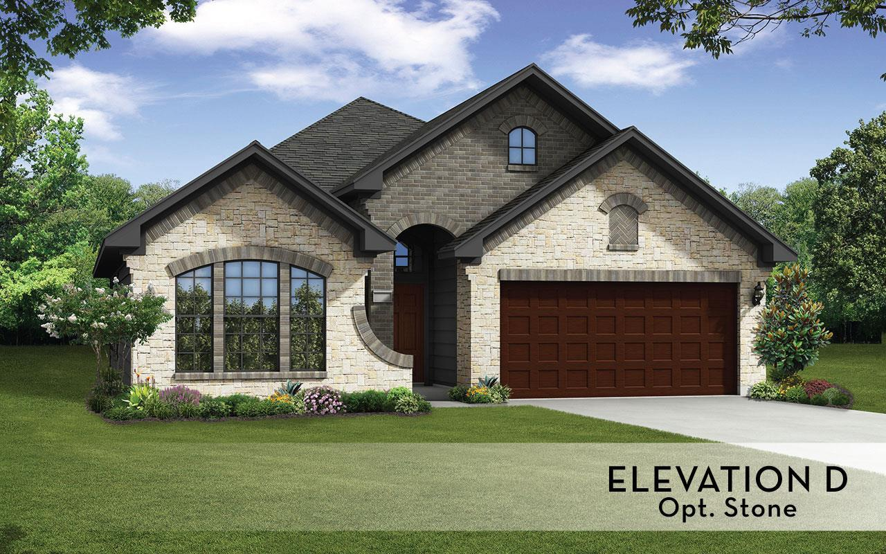 Exterior featured in the Greeley-Silver By CastleRock Communities in Houston, TX