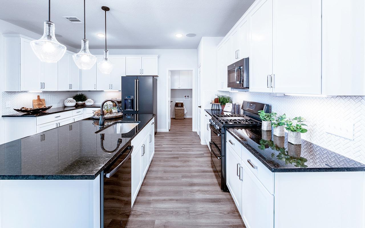 Kitchen featured in the Hayden-Silver By CastleRock Communities in Brazoria, TX