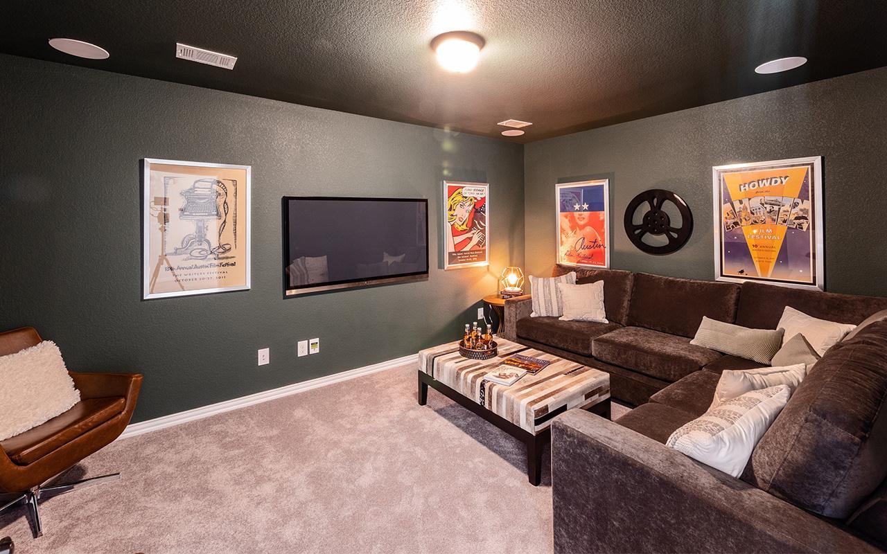 Living Area featured in the Hayden-Silver By CastleRock Communities in Brazoria, TX