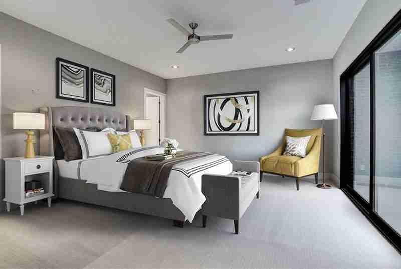 Potomac Master Bedroom