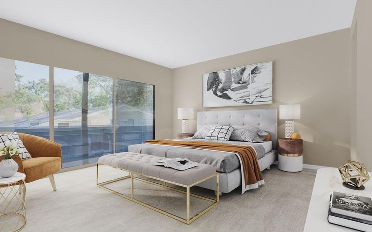 Bedroom featured in the Unit B - Mercury Luxury Home By CastleRock Communities in Houston, TX