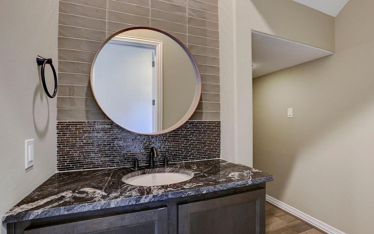 Bathroom featured in the Unit B - Mercury Luxury Home By CastleRock Communities in Houston, TX