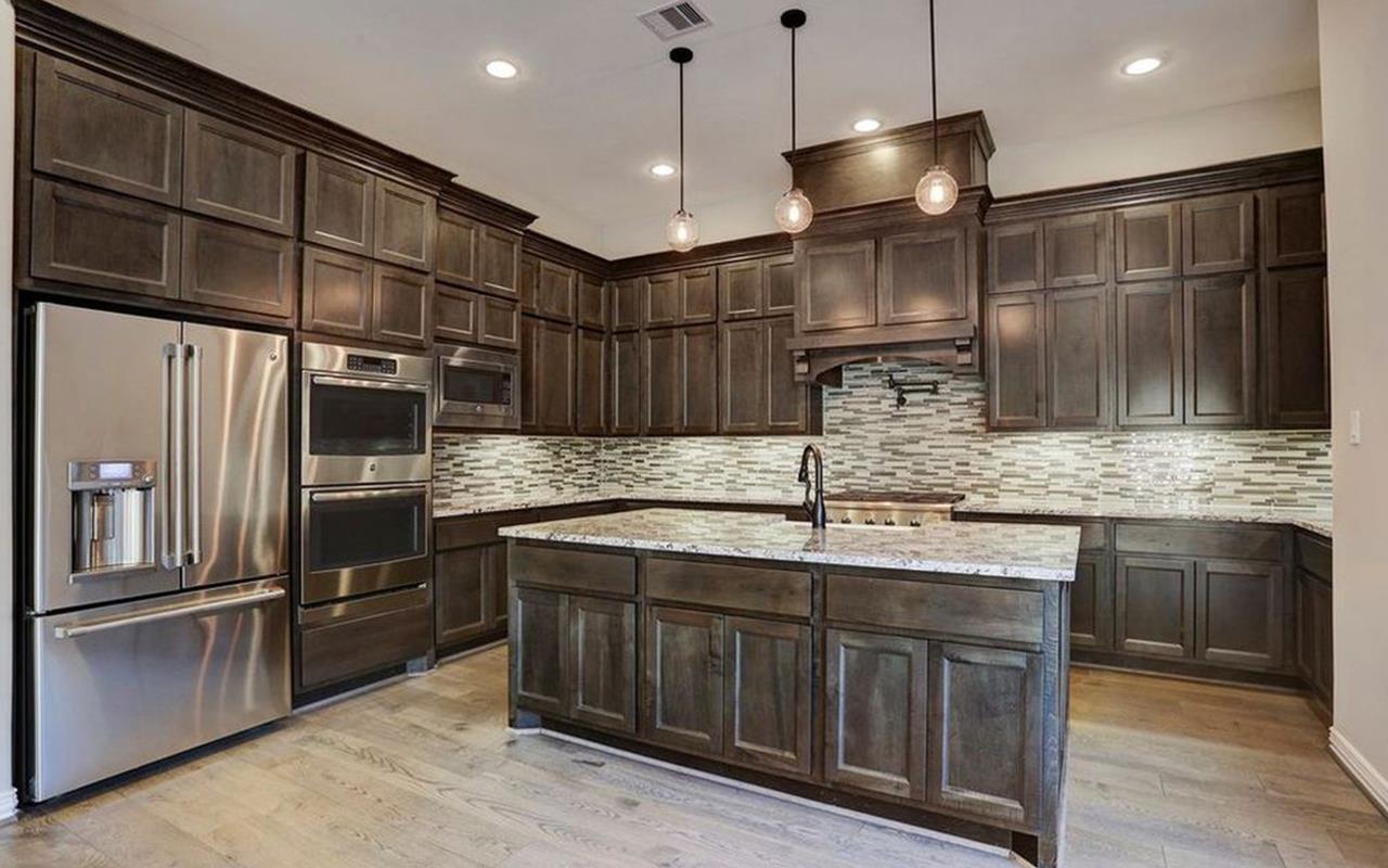 Kitchen featured in the Unit B - Mercury Luxury Home By CastleRock Communities in Houston, TX
