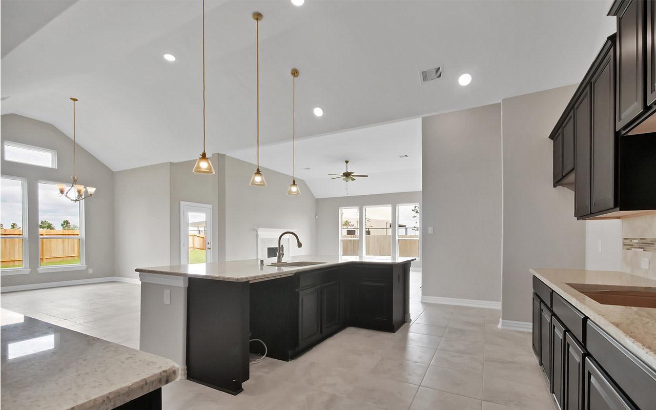 Kitchen featured in the Ventura By CastleRock Communities in Houston, TX