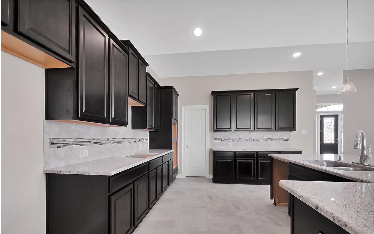 Kitchen featured in the Ventura-Gold By CastleRock Communities in Dallas, TX