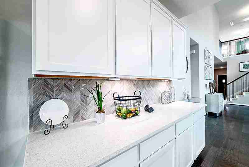 Spacious Countertops