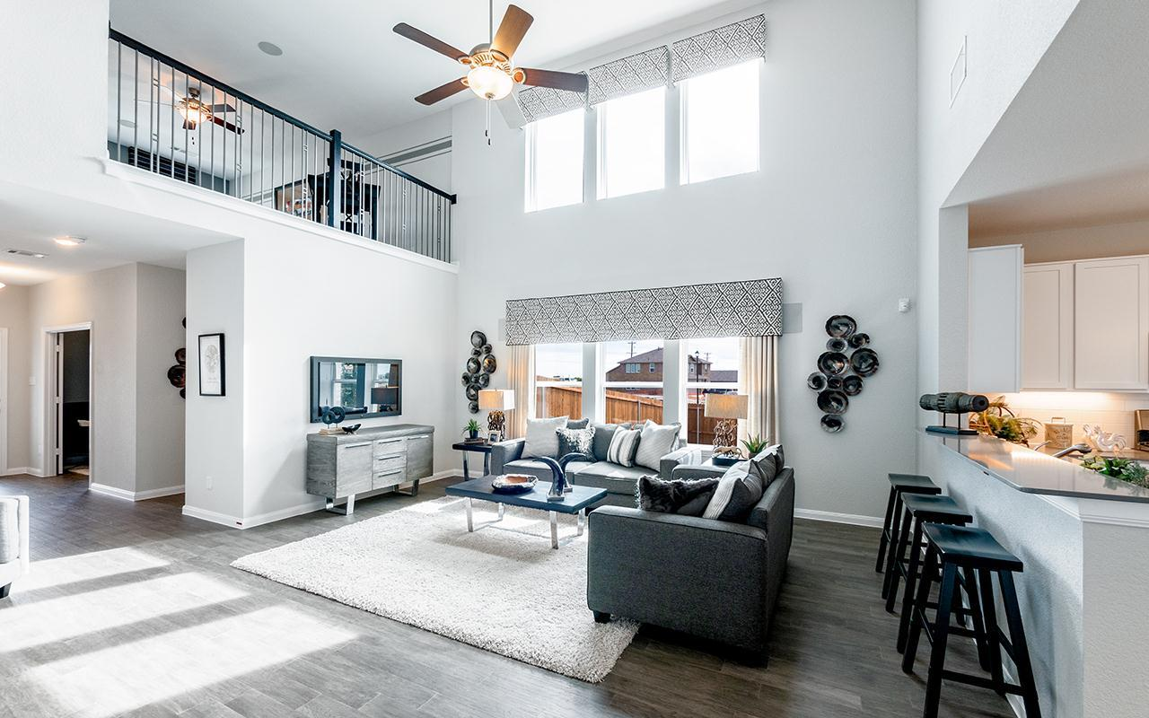 Living Area featured in the Rio Grande-Cobalt By CastleRock Communities in Houston, TX