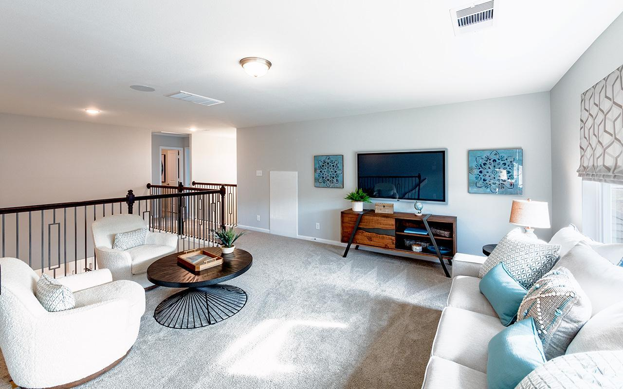 Living Area featured in the Yuma By CastleRock Communities in Brazoria, TX
