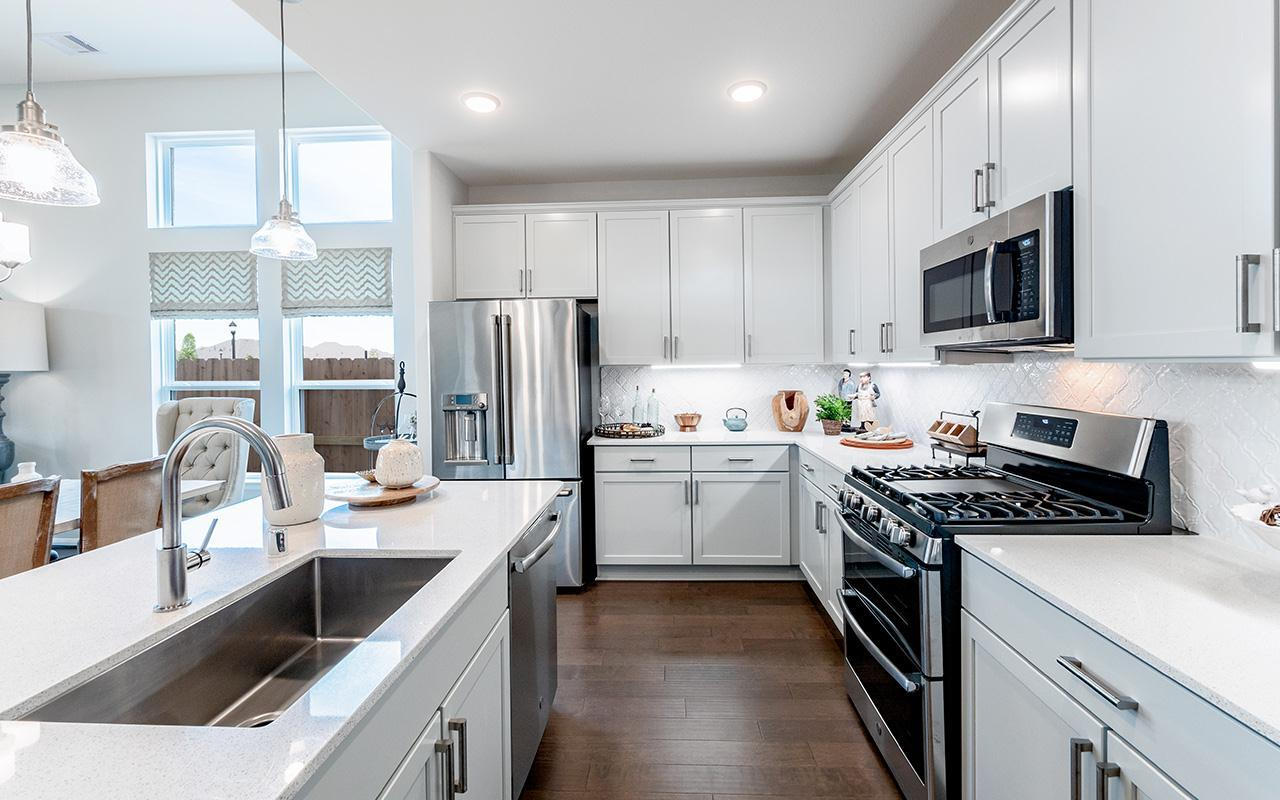 Kitchen featured in the Yuma-Silver By CastleRock Communities in Houston, TX