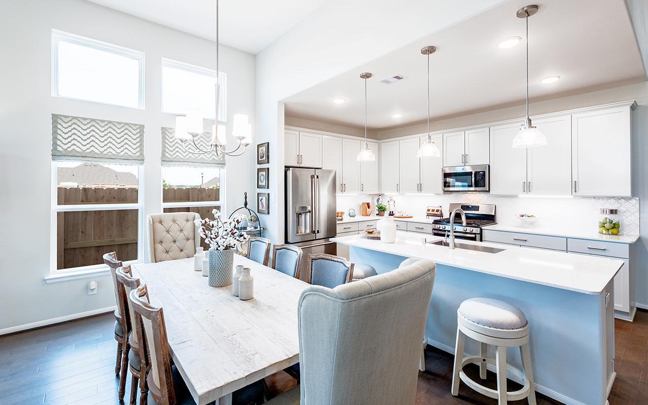 Kitchen featured in the Yuma By CastleRock Communities in Brazoria, TX
