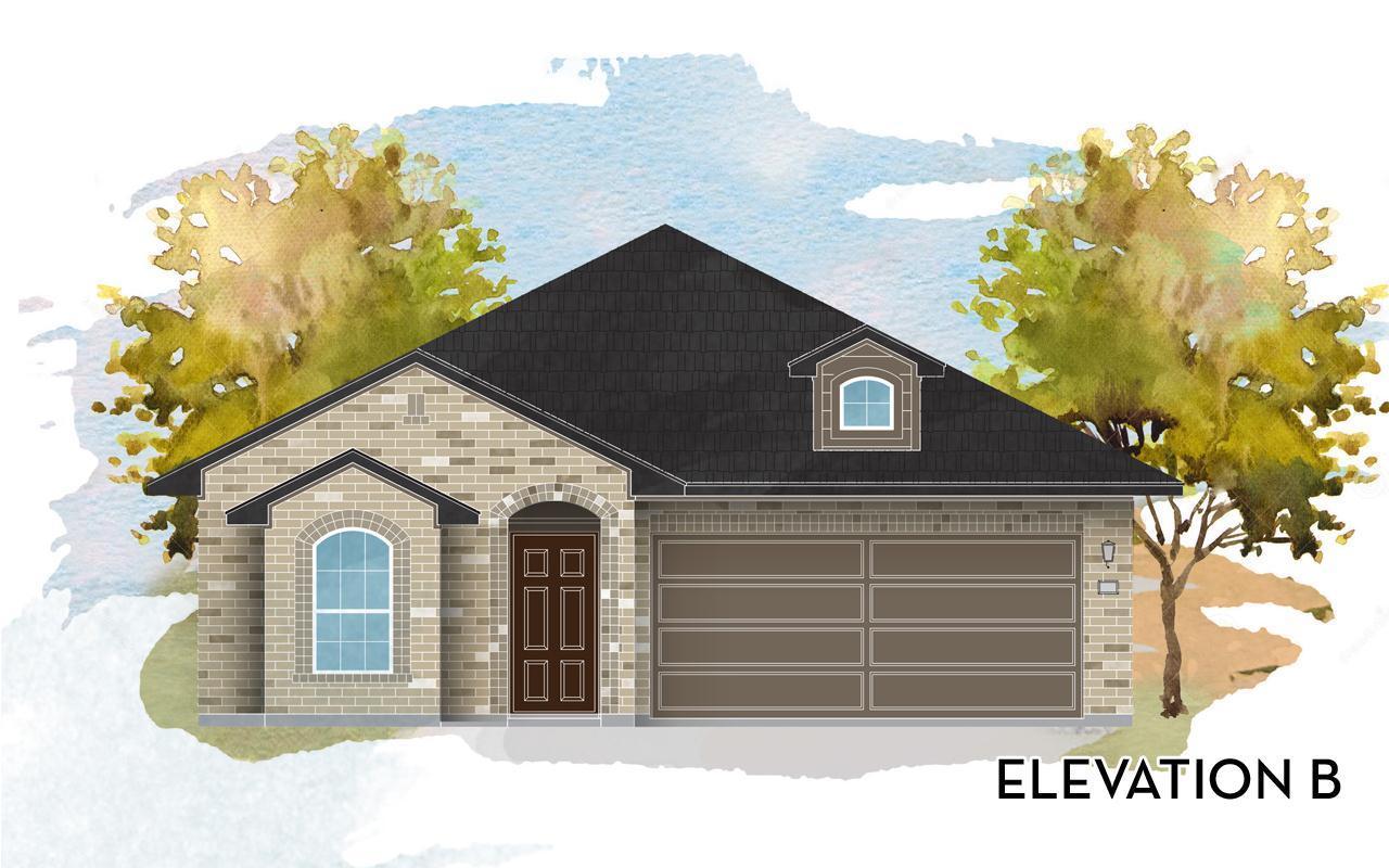 Exterior featured in the Aquila Cobalt By CastleRock Communities in San Antonio, TX