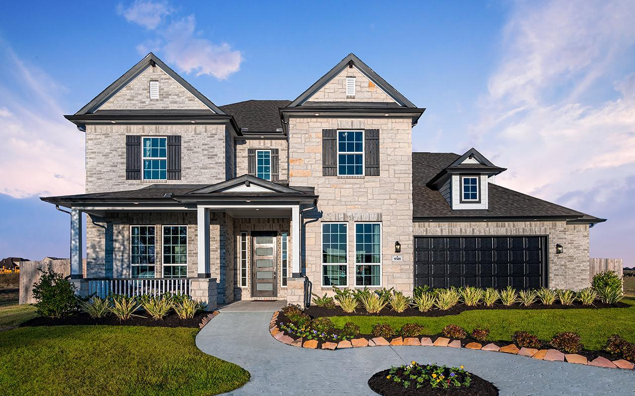 Exterior featured in the Frisco-Gold By CastleRock Communities in San Antonio, TX