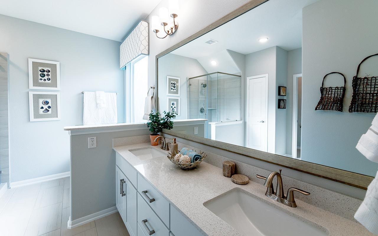 Bathroom featured in the Yuma-Silver  By CastleRock Communities in Houston, TX