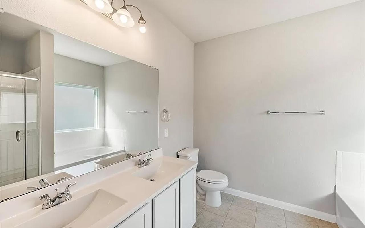 Bathroom featured in the Frio By CastleRock Communities in Houston, TX