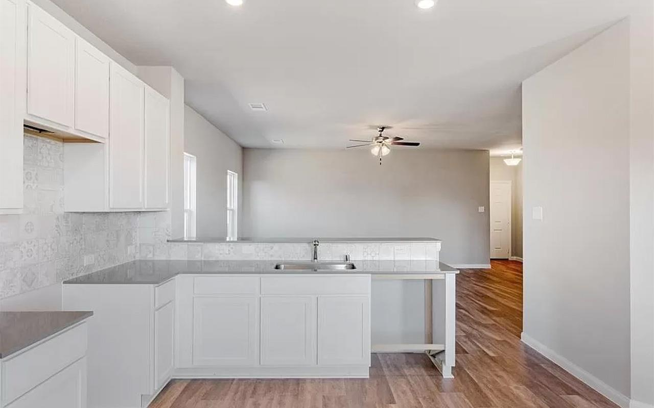 Kitchen featured in the Frio By CastleRock Communities in Houston, TX