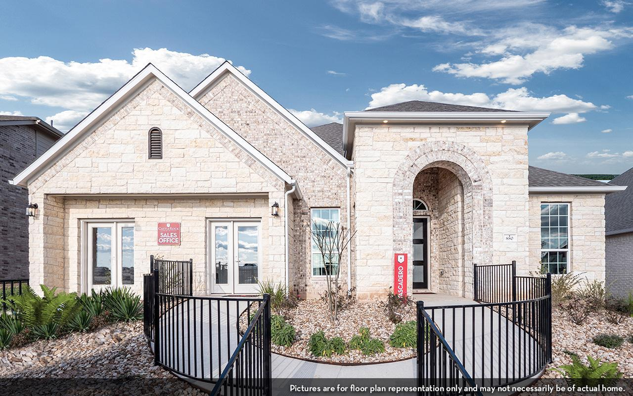 Exterior featured in the Atascadero-Gold By CastleRock Communities in Houston, TX