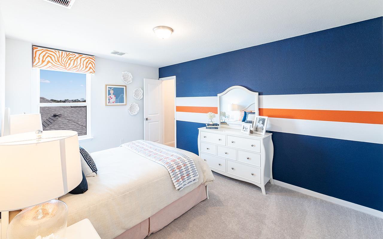 Bedroom featured in the Hayden By CastleRock Communities in San Antonio, TX