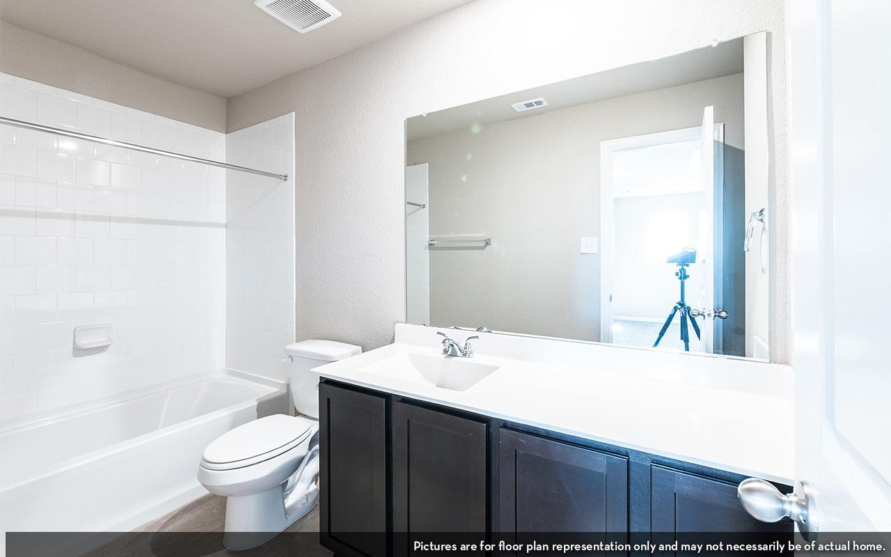Bathroom featured in the Blanco By CastleRock Communities in Houston, TX
