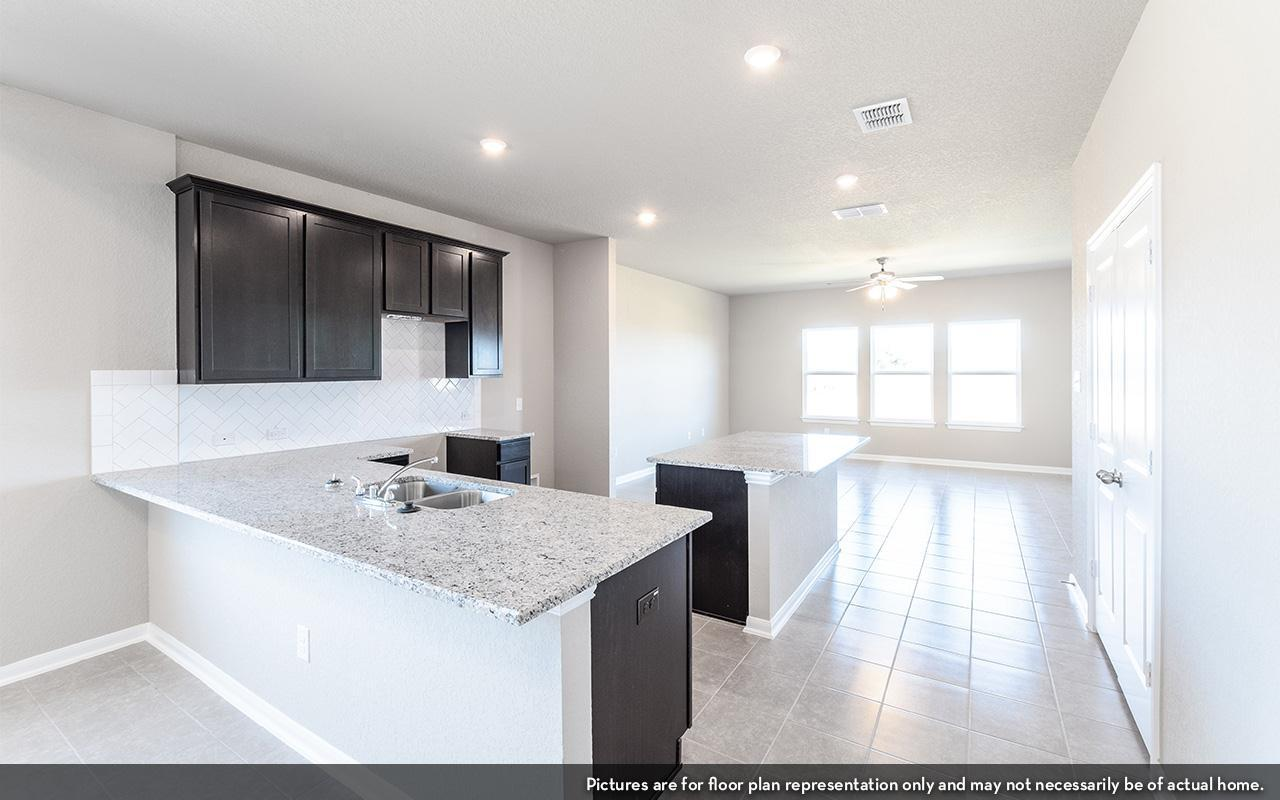 Kitchen featured in the Blanco By CastleRock Communities in Houston, TX