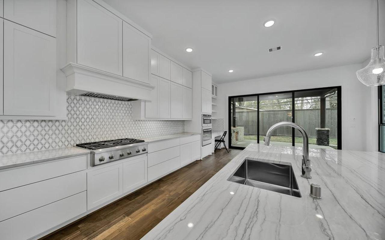Kitchen featured in the Laguna II-Gold By CastleRock Communities in Houston, TX