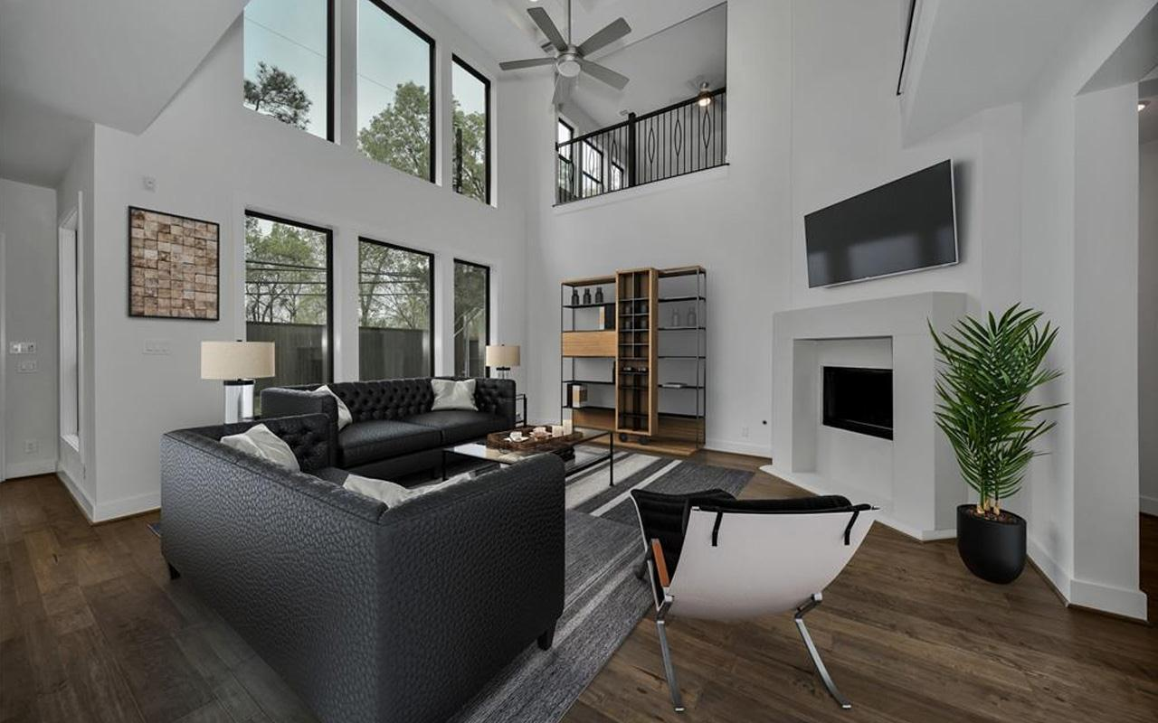 Living Area featured in the Laguna II-Gold By CastleRock Communities in Houston, TX
