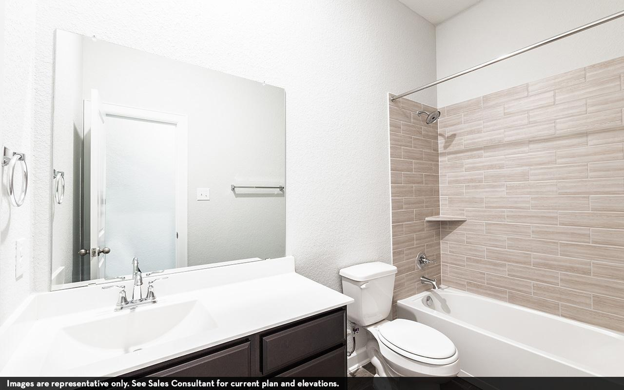 Bathroom featured in the Capitola-Gold By CastleRock Communities in San Antonio, TX