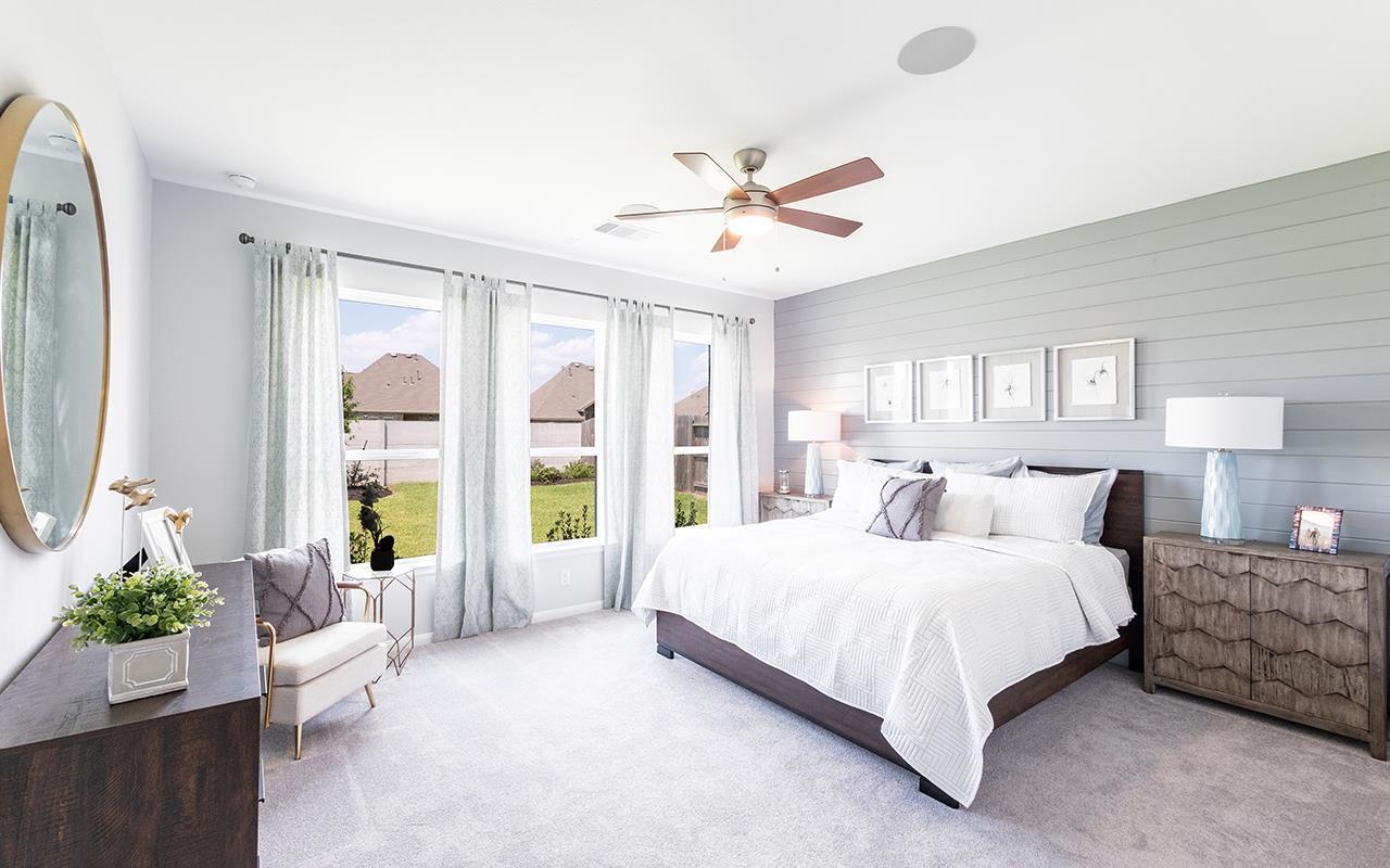 Bedroom featured in the Hemingway-Silver By CastleRock Communities in Houston, TX