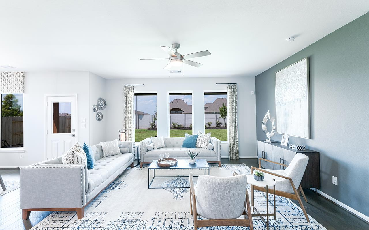Living Area featured in the Hemingway-Silver By CastleRock Communities in Houston, TX